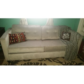Serta Upholstery Elizabeth Queen Sleeper Sofa & Reviews