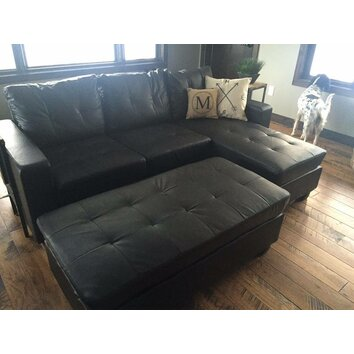 Latitude Run Reversible Chaise Sectional Amp Reviews Wayfair