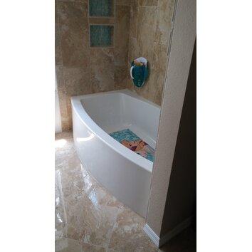 Kohler Expanse Curved 60 Quot X 30 36 Quot Soaking Bathtub