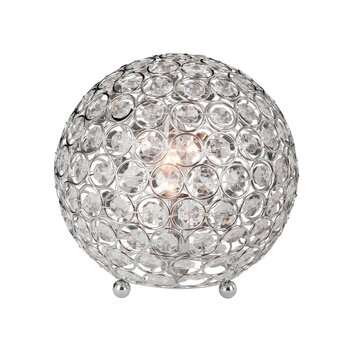 All The Rages Crystal Ball 8 Quot H Table Lamp With Sphere
