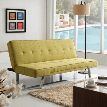 sleeper sofa bed wayfair. Black Bedroom Furniture Sets. Home Design Ideas