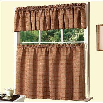 Dainty Home Kitchen Jeanette Curtain Set Reviews Wayfair