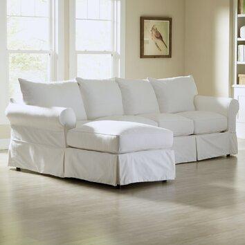 Birch Lane Jameson Sleeper Sofa with Chaise & Reviews