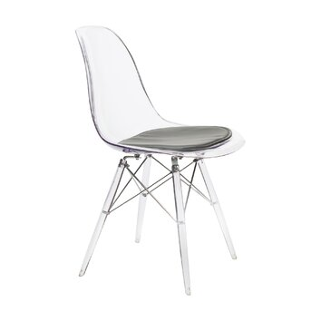 American Atelier Living Banks Clear Side Chair Amp Reviews