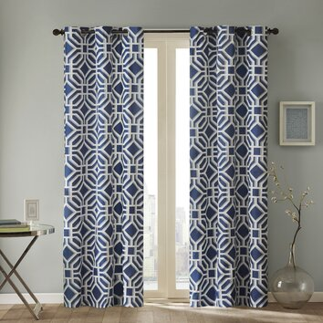 Intelligent Design Maci Single Curtain Panel