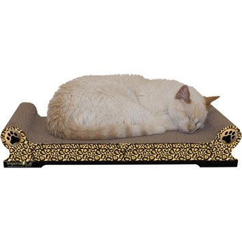 Imperial cat scratch 39 n shapes large regular sofa recycled for Chaise lounge cat scratcher