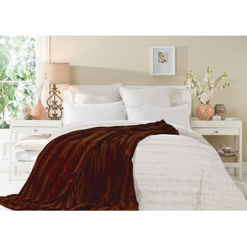 Cathay Home, Inc Luxe Throw Blanket