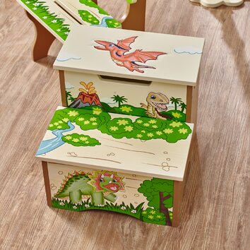 Fantasy Fields Dinosaur Kingdom 2 Step Step Stool
