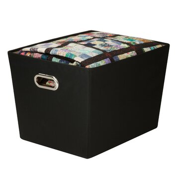 Zipcode™ Design Decorative Storage Bin with Handles