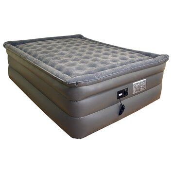 Slumberland deluxe comfort 26 raised pillowtop air mattress