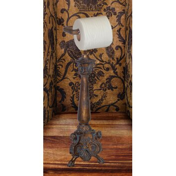 Hickory manor house free standing royal toilet paper holder amp reviews