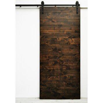 Dogberry collections latitude barn door with hardware for Barn doors and hardware reviews