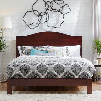 Mercury Row Apollo Camelback Panel Bed & Reviews   Wayfair