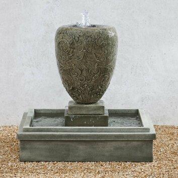 Campania International Inc Longwood Cast Stone Fountain