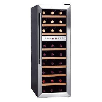 Homeimage 27 Bottle Dual Zone Freestanding Wine