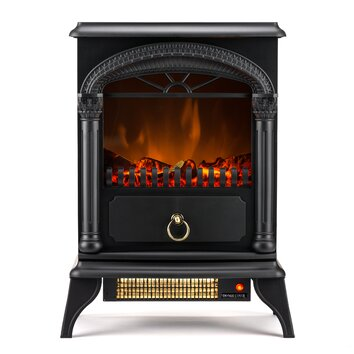 e flame hamilton electric fireplace reviews wayfair. Black Bedroom Furniture Sets. Home Design Ideas