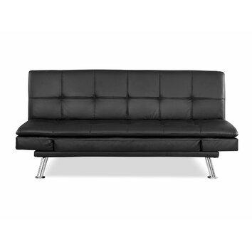 Lifestyle solutions niles convertible sofa reviews wayfair for Schlafsofa wayfair