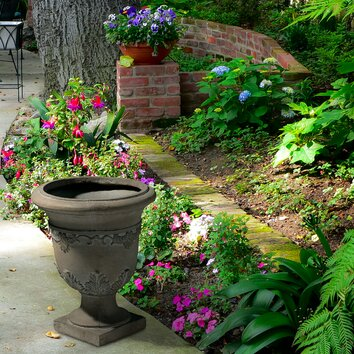 Alcott Hill Harbotle Round Urn Planter Amp Reviews Wayfair