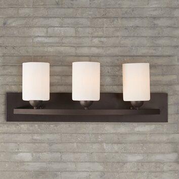Varick Gallery Delmont 3 Light Bath Vanity Light Reviews Wayfair