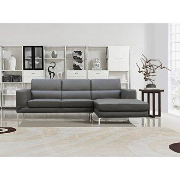 Sectional wayfair for Gray sectional sofa wayfair