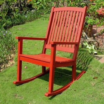 Beachcrest Home Royal Fiji Rocking Chair & Reviews  Wayfair