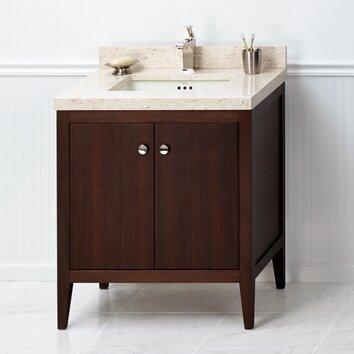 sophie 30 bathroom vanity cabinet base in american walnut wayfair