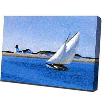 Buy Art For Less Long Leg By Edward Hopper Painting Print