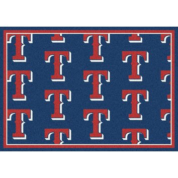 Mlb Team Repeat Texas Rangers Baseball Novelty Rug Wayfair