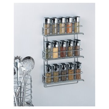 what don't you love about this stainless spice rack, to match your appliances