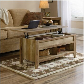 Sauder Dakota Pass Coffee Table with Lift Top