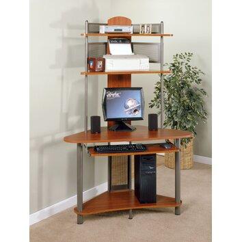 Sauder A Tower Computer Desk With Hutch Amp Reviews Wayfair