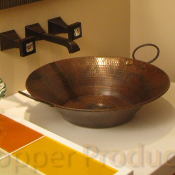 Premier Copper Products Round Minors Pan Hammered Copper
