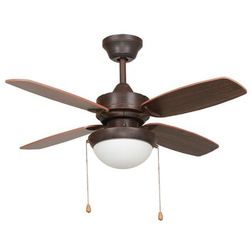 Yosemite Home Decor 36 Ashley 4 Blade Ceiling Fan Reviews Wayfair