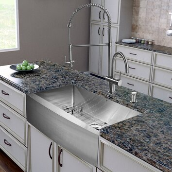 48 Farmhouse Sink : All in One 30