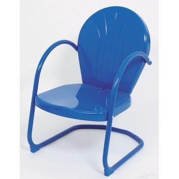 metal tulip chair 2