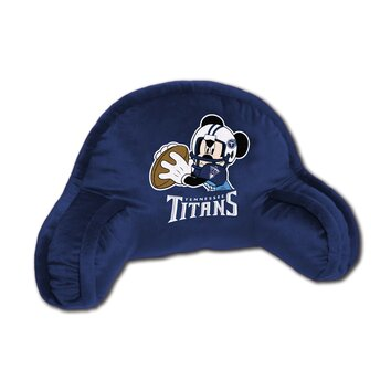 Northwest co. nfl tennessee titans mickey mouse bed rest pillow