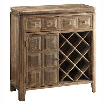 Crestview Grand Junction 7 Bottle Wine Cabinet & Reviews