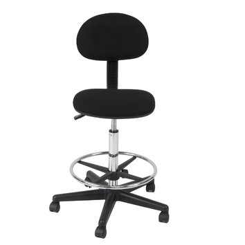 Studio Designs Mid Back Drafting Chair With Foot Ring