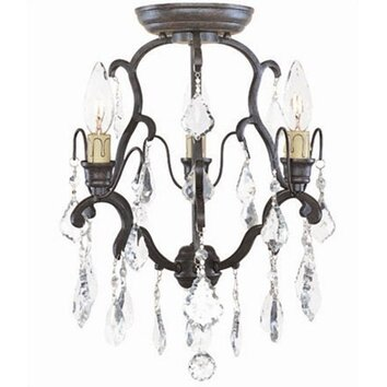 World Imports Timeless Elegance 3 Light Mini Chandelier 2613 89 WOR1669 on secure storage cabinets