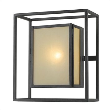 Wayfair Indoor Wall Sconces : World Imports Lighting Hilden 1 Light Indoor/Outdoor Wall Sconce & Reviews Wayfair