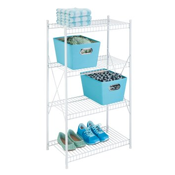 Honey Can Do 4 Tier Storage Shelf