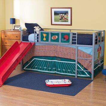 DHP Fantasy Junior Twin Loft Bed with Slide & Reviews  Wayfair