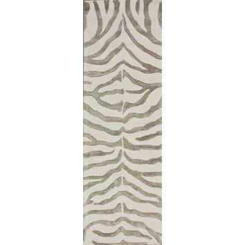 Nuloom Earth Soft Zebra Grey Area Rug Zf5 Jpg
