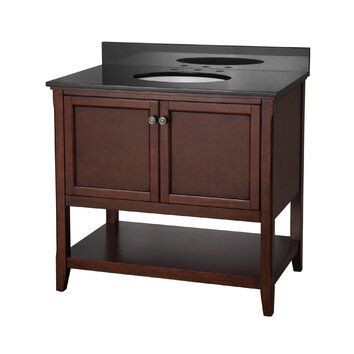 Foremost Auguste 36 Single Bathroom Vanity Base Reviews Wayfair