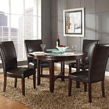 Steve Silver Furniture Hartford 5 Piece Dining Set Reviews Wayfair