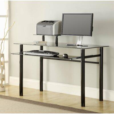 Innovex Glass Computer Desk