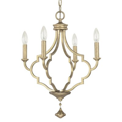 Quinn 4 Light Candle Chandelier Product Photo