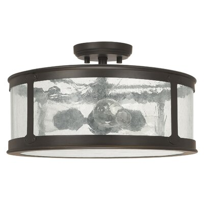 Dylan 3 Light Semi-Flush Mount Product Photo