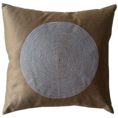 Jiti Spiral Silk Decorative Throw Pillow