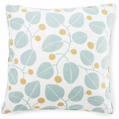 Jiti Bethe Leaves Cotton Throw Pillow